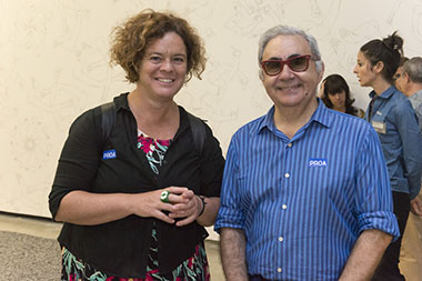 Laura Isola y Daniel Molina