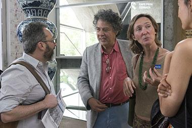 Gerardo Rozin, Juan Pablo Correa, Cecilia Perkins