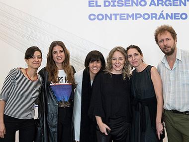 Luisa Tomatti, Manuela Otero, Cecilia Jaime, Cintia Mezza, Soledad Oliva, Jorge Lewis