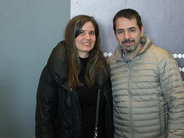 María Pardillo Ãlvarez y Juan Duarte Cuadrado, Consejero Cultural de la Embajada de España