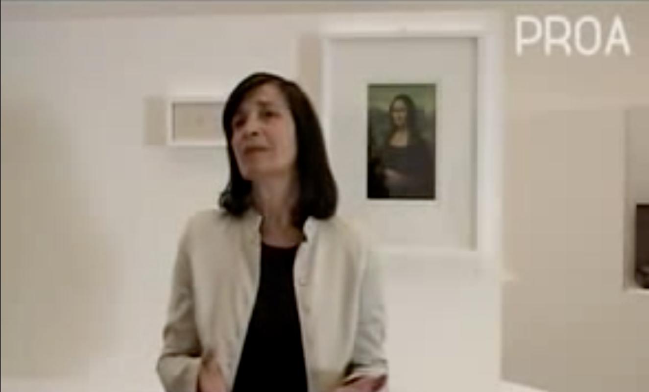 Graciela Speranza y el efecto Duchamp, 2008