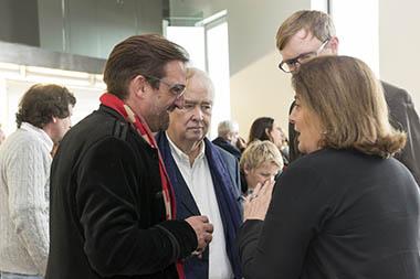 Daniel Krull, Carlos Franck, Harald Harrmann, Adriana Rosenberg