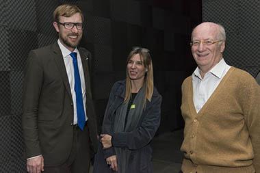 Harald Harrmann, Maren Schiefelbein, Paolo Rocca