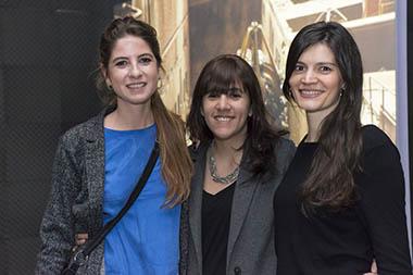 Manuela Otero, Cecilia Jaime, Daniela Pérez González