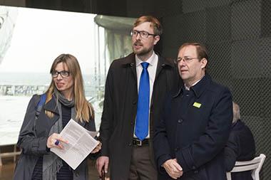Maren Schiefelbein, Harald Harrmann, Guillermo Alonso