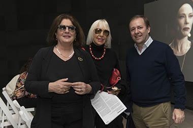Adriana Rosenberg, Marta Minujín, Guillermo Alonso