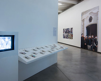 Sala 2.  Proyectos Colectivos de Clemente Padin Viva Laura Perez