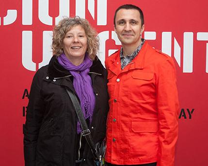 Fernanda Carrizo y Rodrigo Alonso