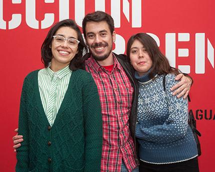Nadinne Fernanda Canto Novoa, Juan Pablo Torrealba Bravo y Daniela Escobar