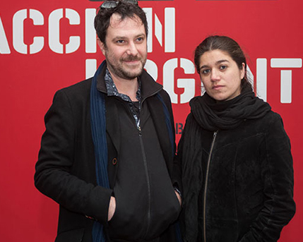 Federico Zukerfeld y Loreto Garin
