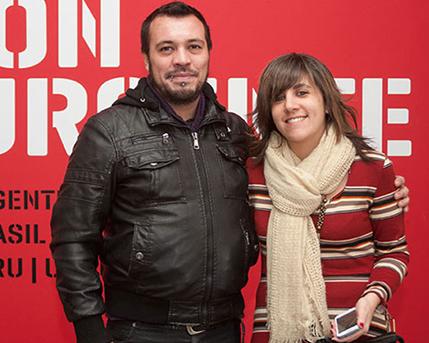 Ezequiel Verona y Cecilia Jaime