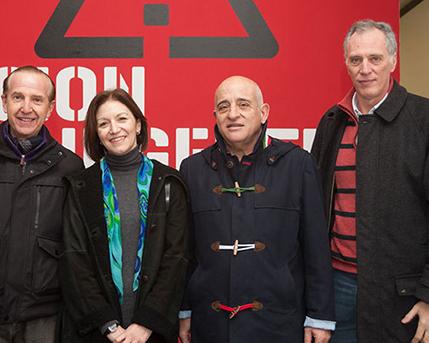 Sergio Baur, Diana Wechsler, Aníbal Jozami, Mae Huernos