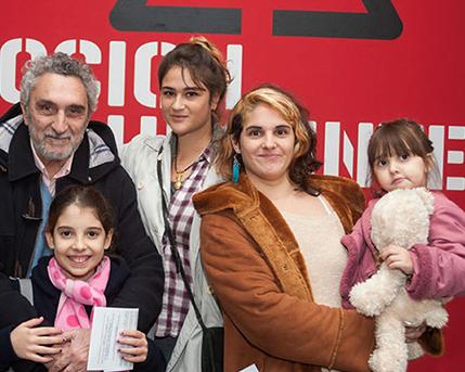 Luis Pazos y Familia