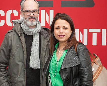 Sergio Bosco y Monserrat Henández