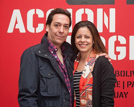 Federico Alonso y Victoria Dotti