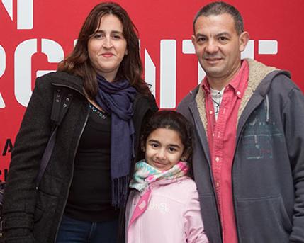 Elizabeth Torres y Adrián Garry