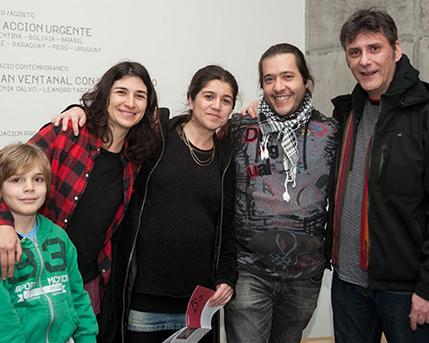 Lorena Bossi, Loreto Garin, Felipe Brait y Pablo Ares