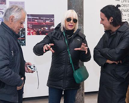 Clemente Padin, Marta Minujín, Javier López