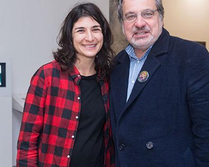Lorena Bossi y Gustavo Buntinx