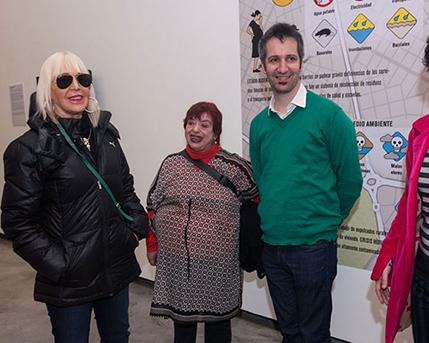 Marta Minujín, Graciela Taquini, Daniel Fischer, Magdalena Pagano