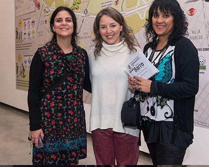 Andrea Sica, Cintia Mezza, Ana Aristimuño