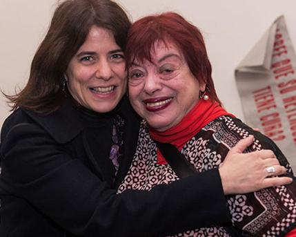 Cecilia Rabossi y Graciela Taquini