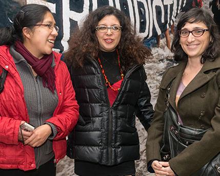 Danitza Mercedes Luna Tapia y Carolina Otonello