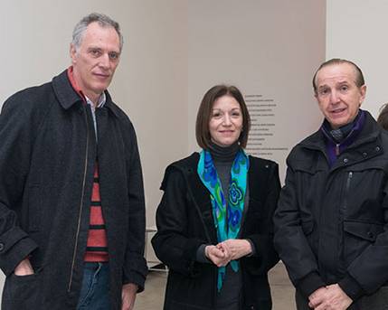 Mae Huernos, Diana Wechsler, Sergio Baur
