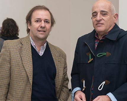 Guillermo Alonso y Aníbal Jozami