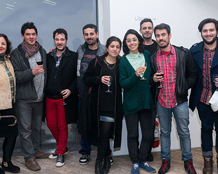Federico Zukerfeld, Loreto Garin, Nadinne Fernanda Canto Novoa, Juan Pablo Torrealba Bravo y Diego Eduardo Parra Donoso