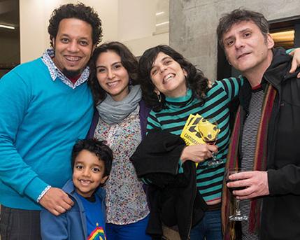Daniel Lima, Johana y Pablo Ares