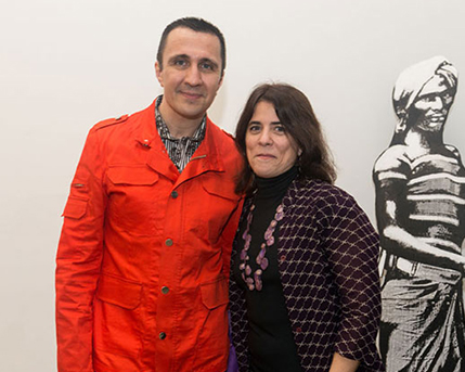 Rodrigo Alonso y Cecilia Rabossi