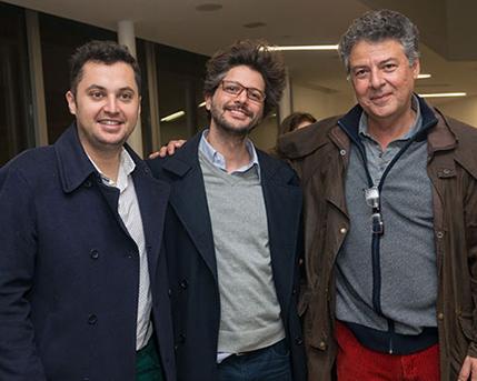 Mauricio Díaz Escalona, Carlos Díaz, Juan Pablo Correa