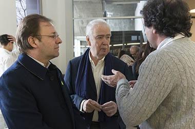 Guillermo Alonso, Carlos Franck, Pablo Zaefferer