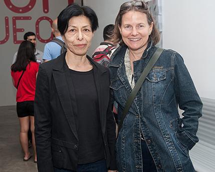 Elba Bairon y Monica Girón