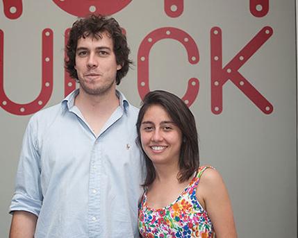 Alejandro Grimoldi y Laura Ferreiros