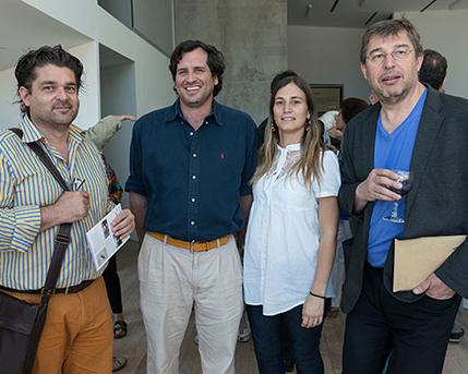 Pablo Zaefferer y Sra., Mariano Clusellas