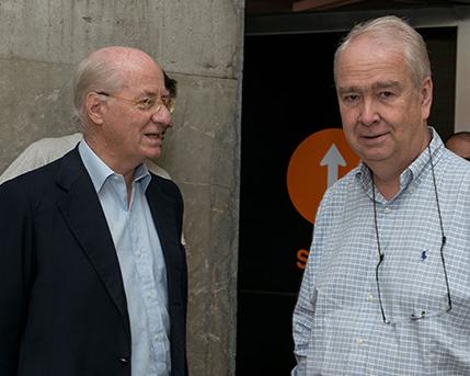 Paolo Rocca y Carlos Franck