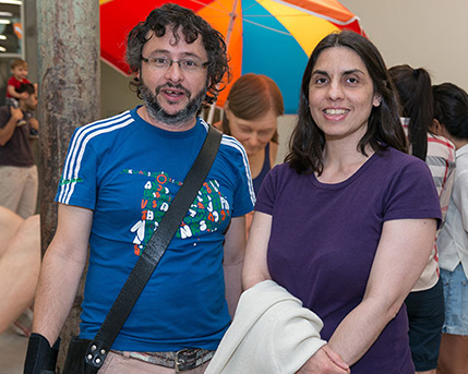 Fernando García y Gabriela Forcadell
