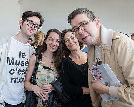 Mariano Gilmore, Belén Arroyo, Nora Fisch y Lux Linder