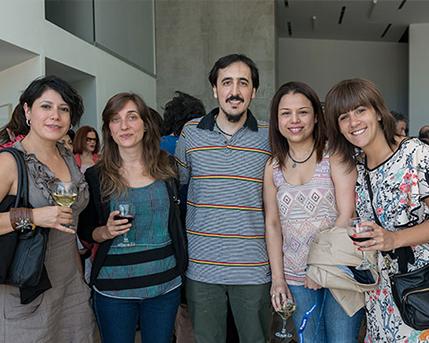 Thelma de Mesa, Ana Scwartzman, Ignacio Ochi, Montserrat Hernández y Cecilia Jaime