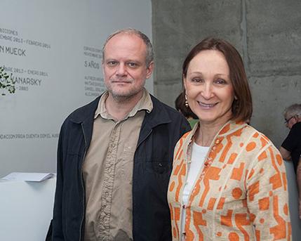 Fabio Grementieri y Teresa Anchorena