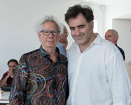 Rogelio Polesello y Marcelo Mortarotti