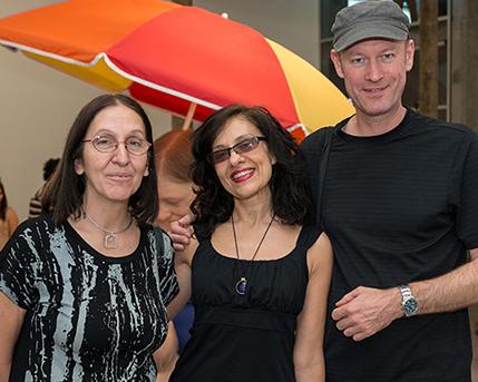 Laura Malosetti Costa, Andrea Giunta y esposo