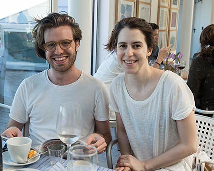 Mateo Bendesky y Ximena Brenner