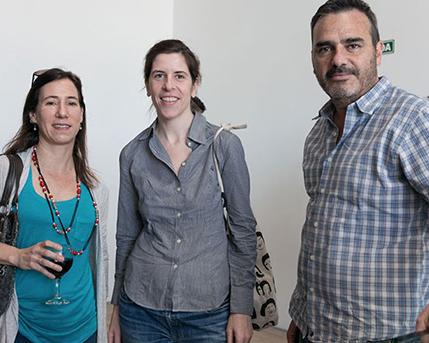Melina Berkenwald, Carlos Irazabal y Sra.