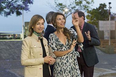 Felisa Larivière de Blaquier y Adriana Batan de Rocca