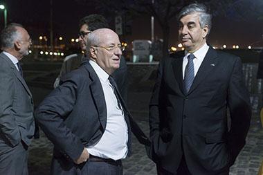 Paolo Rocca y Mario Dell'Acqua