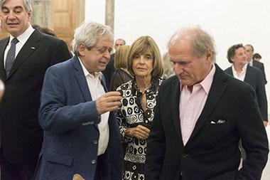 Hugo Petruschansky, María Freixas de Braun, Federico Braun