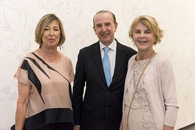 Maria Gancia, Sergio Baur, Magdalena Cordero